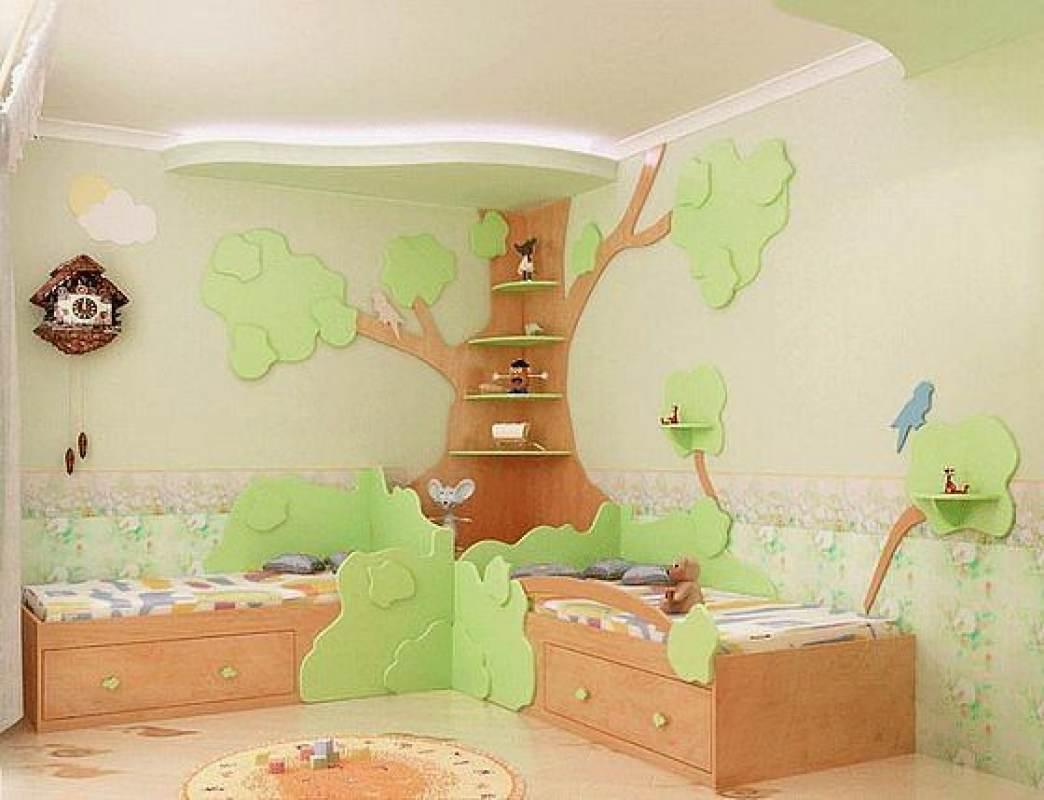 Сделать своими руками мебель в детскую комнату